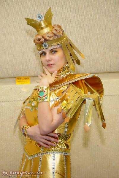 McKayla as Sailor Galaxia